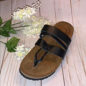 Naot BlackSlip On Sandals Sz 37  6